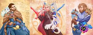 Team Targaryen by Fuyukichi