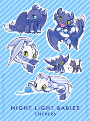 Fledgling Dragons by Fuyukichi