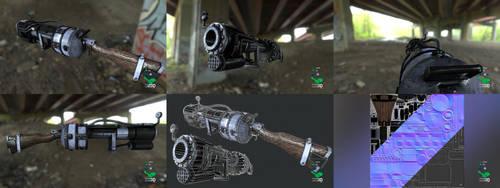 Railway Rifle - Weapon Prop Model Replica by SASteinhebel