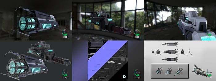 Dream Gun - Weapon Prop Model