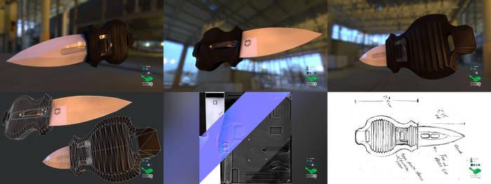 Aegis - Switchblade Concept Prop Model