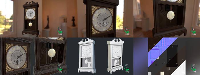 Wall Clock - Prop Model