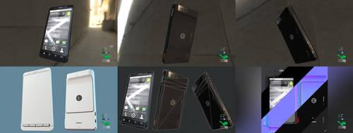 Droid X - Smartphone Prop Model by SASteinhebel