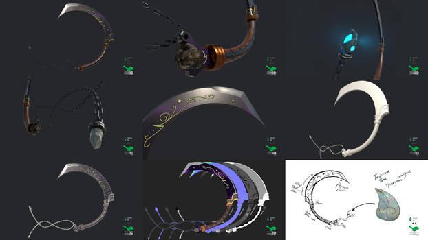 J'Poki - Novacrusher - Sword Concept Prop Model