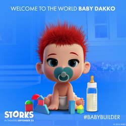 Stork Baby Builder - Dakko