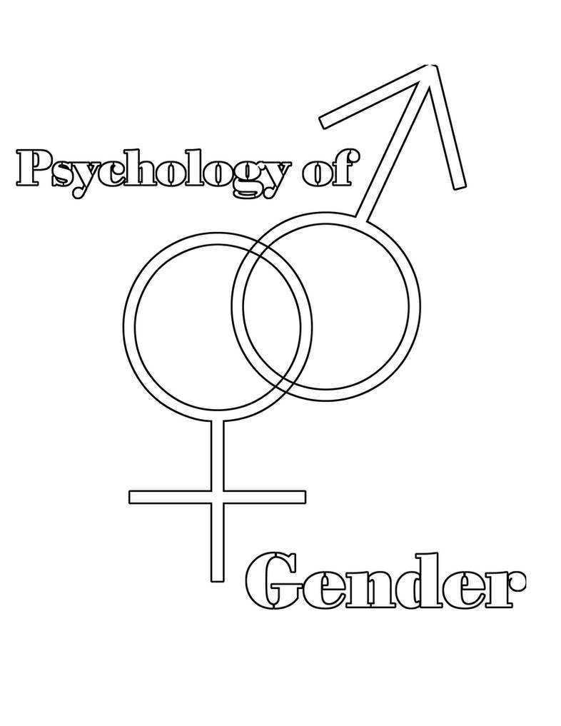 Psych of Gender Coloring Page by ChickenSushi13 on DeviantArt