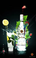 Bacardi Advertisement by georgfx