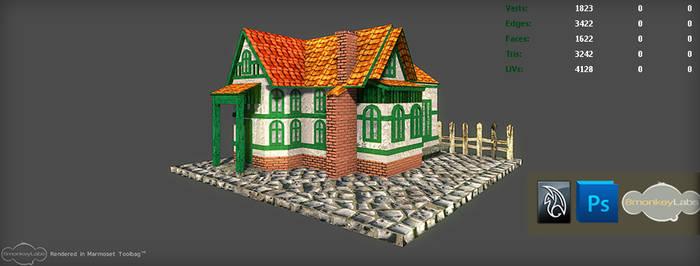 3D Building / House