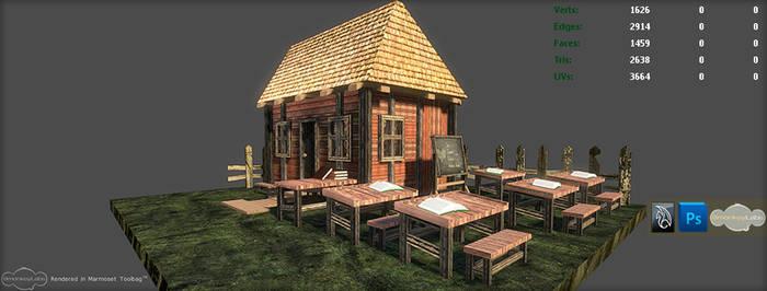 3D Outdoor School