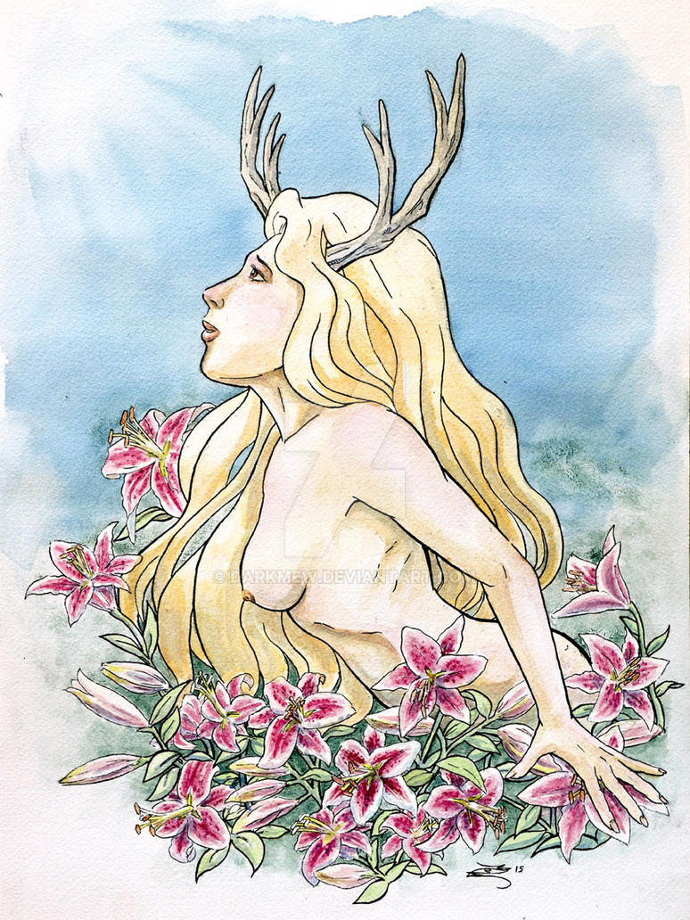 Fairy Scream Faun Lilly Dreams by DarkMeW