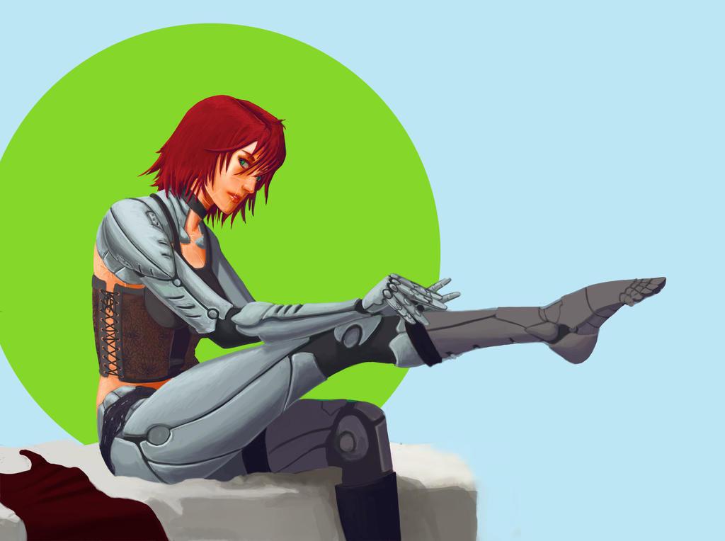 Them Robot Legs by ThroneSeeker