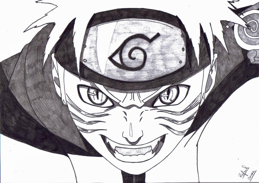 Kyuubi Naruto Rage Sketch Related Keywords Suggestions