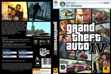 GTA IV - Cover DVD