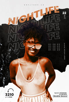 The After Party Event Flyer Free PSD Template