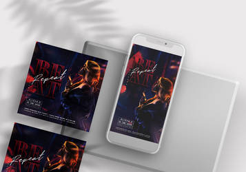 Friday Club House Free Instagram Banners (PSD)