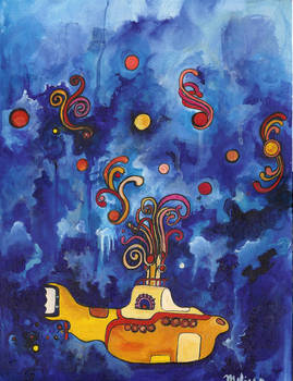 Beneath the Waves, in our Yellow Submarine