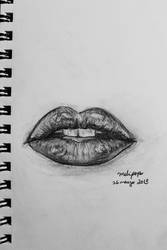 Sketchbook: Lip Study 1