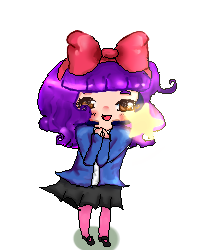 Pixel Doll thingy? by PinkiPockets