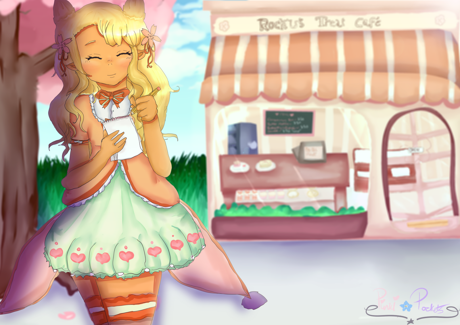 B-DAY GIFT] Can I take your order please? by PinkiPockets on ...