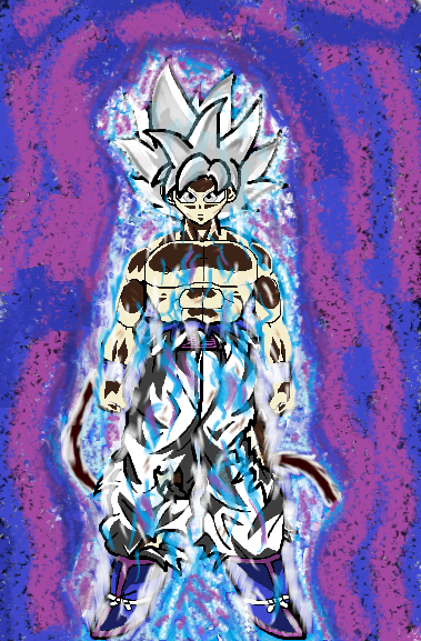 Ultra Instinct Blue! (Mastered) by Blue-Eyes3000