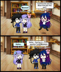 (GachaLife) Tohka Demands Attention! by Blue-Eyes3000