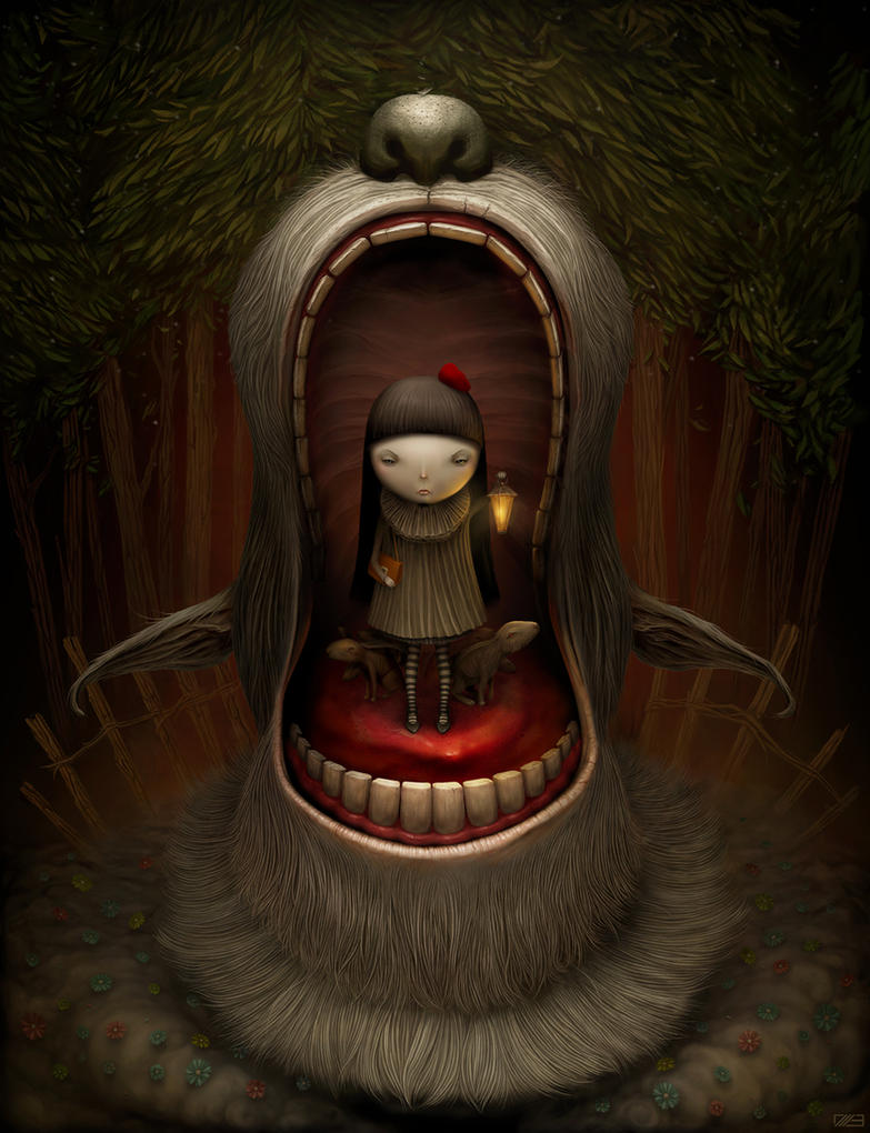 Red Riding Hood by Gloom82 on DeviantArt