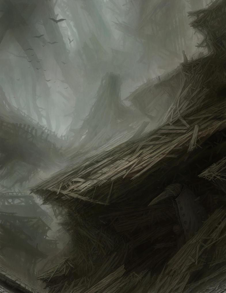 Kingdom of wire nests by Gloom82