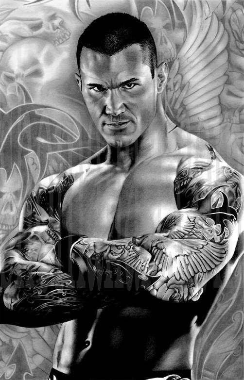 Randy Orton by ShomanArt