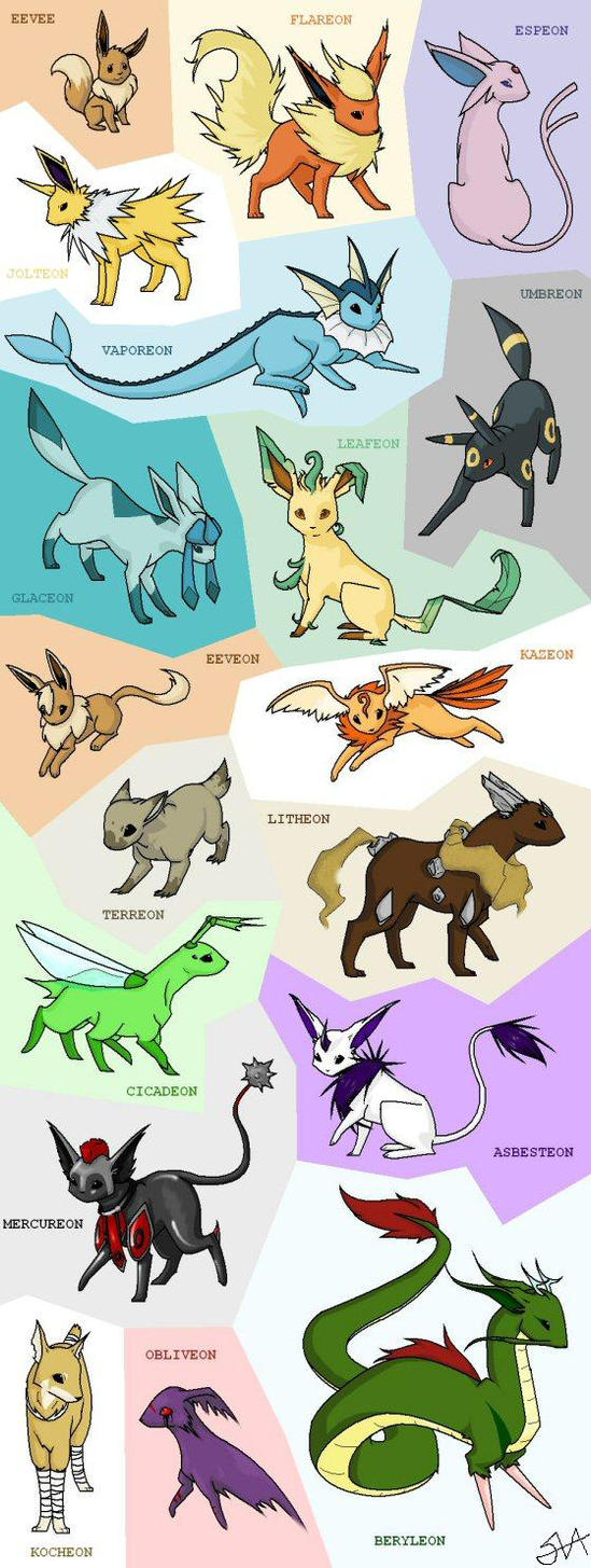 The Eevee and Eeveelutions Club<~ - Page 2 - The