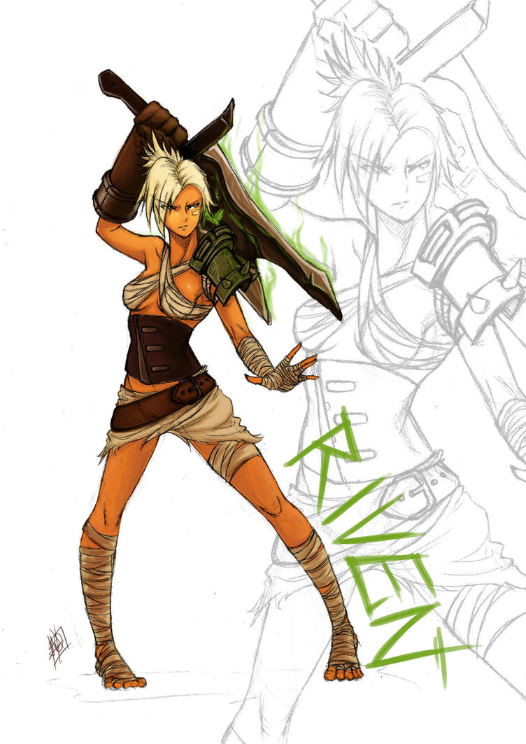 Riven, The Exile by MyTh1C