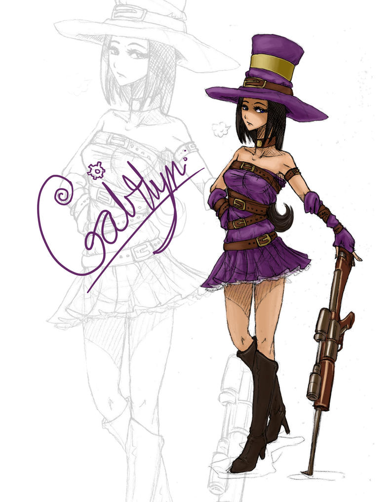 Caitlyn, the Sheriff of Piltover by MyTh1C
