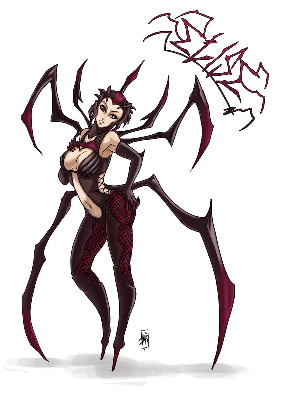 Elise, The Spider Queen by MyTh1C