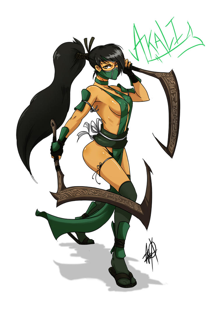 Akali, The Fist of Shadow by MyTh1C