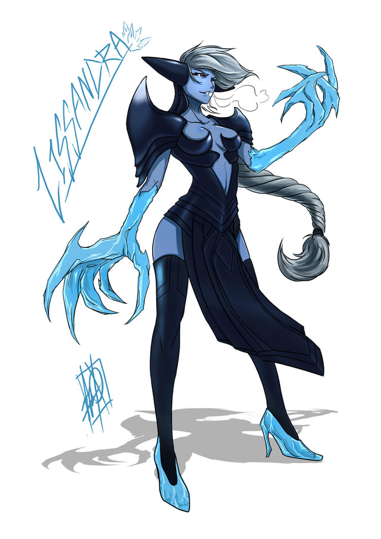 Lissandra, The Ice Witch by MyTh1C on DeviantArt