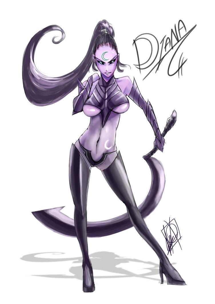 Diana, Scorn of the Moon by MyTh1C