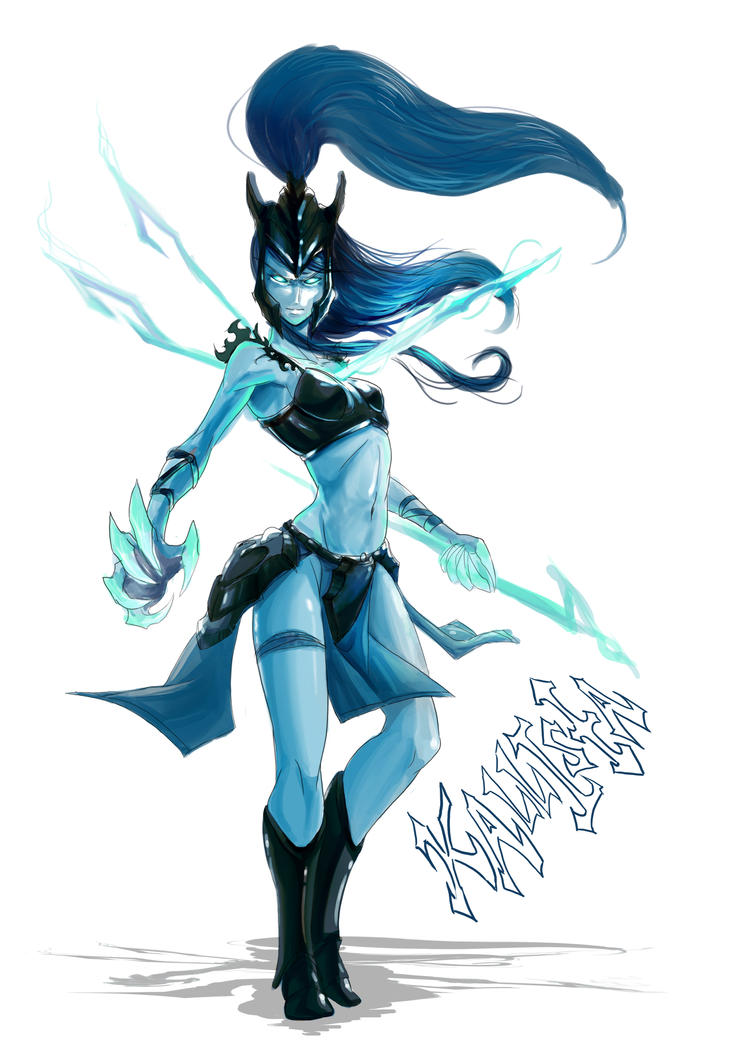 Kallista, The Black Spear by MyTh1C