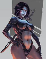 Cyberpunk Christina-Alita