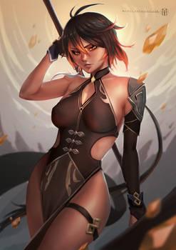 Lady Zhongli