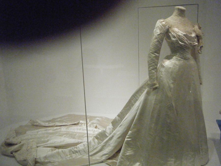 1899 - 1902, Wedding Dress by TuderianArtiste