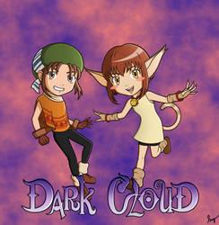 Dark Cloud (Chibis) by Medusa-the-Eternal
