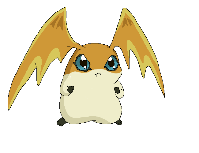 Patamon Patamon pixel-over by