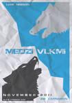 minimal movie poster: The Grey (Slovak title)