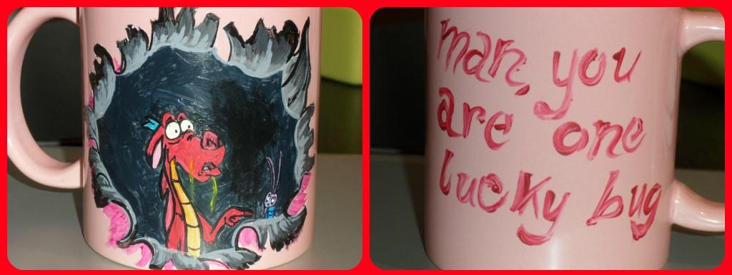 Mushu Mulan Mug by maja135able