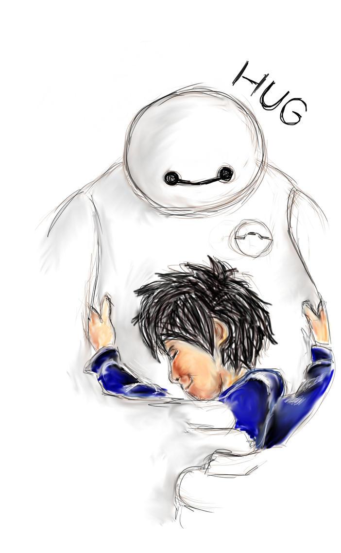 Baymax Hug by maja135able