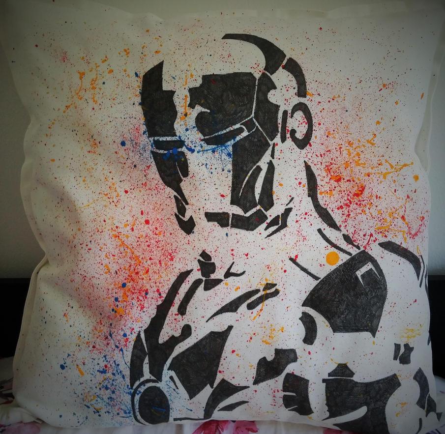 Iron Man cushion cover by maja135able