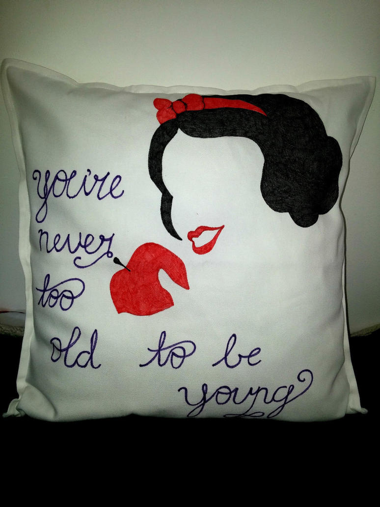 Snow White Cushion Cover by maja135able