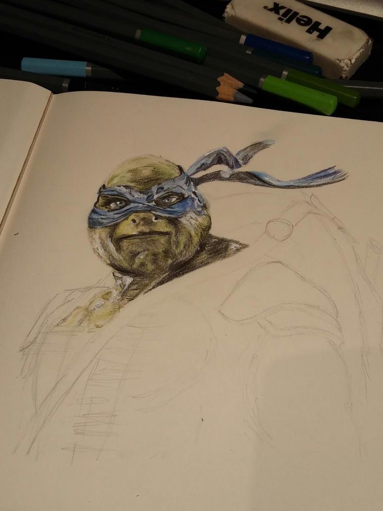 Teenage Mutant Ninja Turtles WIP by maja135able