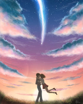 Your Name, Fanart
