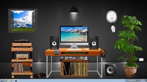 Xwidget desktop wallpaper