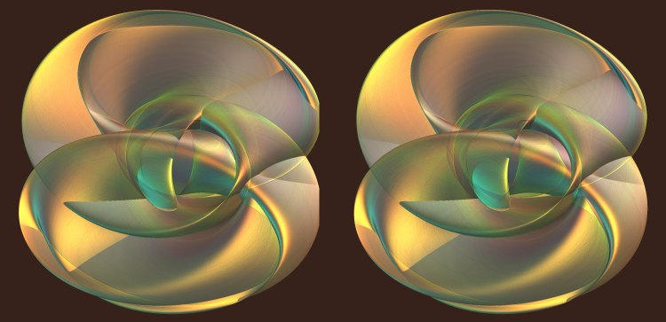 Ribbonwrapped - Stereogram by PatGoltz